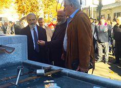 Inaugurata alla madonna della Neve la fontana donata da Léonard Gianadda. Fotogallery e video - Ossola 24 notizie