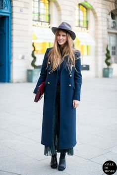 Paris Fashion Week FW 2014 Street Style: Monica Ainley