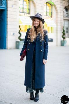 Paris Fashion Week FW 2014 Street Style: Monica Ainley