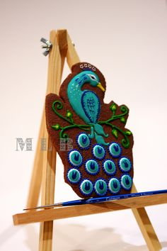 Peacock Cookies