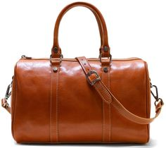 Monogram Floto Leather Boston Bag Handbag