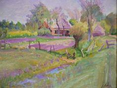 Jan Altink, boerderij te Essen, Haren 1938