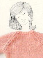 Scuola: colli, scalfi, scollature, polsi Knitting Stitches, Knitting Designs, Baby Knitting, Tapestry Crochet, Knit Crochet, Stitch Patterns, Knitting Patterns, Lana, Refashion