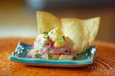 Peruvian Fish (Tilapia) and Shrimp Ceviche | Decisive Latino
