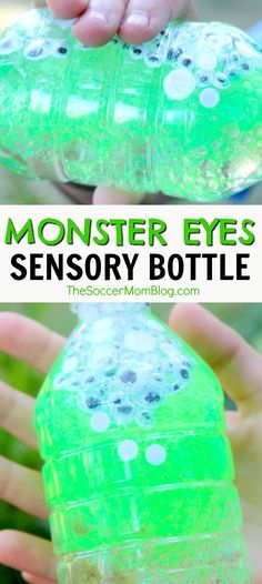 Monster Eyes Sensory Bottle