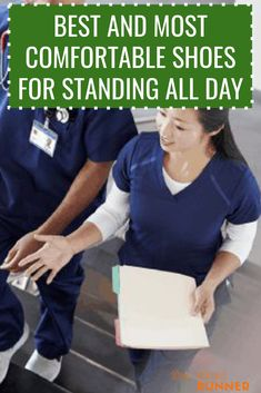 Standing all day long can really take a toll on your feet and ankles. Your knees, legs, and lower back pay the price, too. The best way to offset fatigue and aches and pains is to make sure you wear a good pair of supportive shoes.