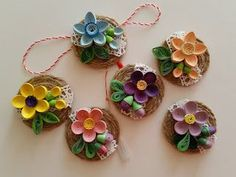 12 Awesome Paper Quilling Jewelry Designs To Start Today – Quilling Techniques Paper Quilling Earrings, Paper Quilling Patterns, Quilled Paper Art, Quilling Paper Craft, Quilling 3d, Quilling Rakhi, Handmade Rakhi Designs, Rakhi Making, Quilling Christmas