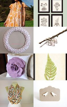 New Year 2013 - Spring Inspiration. From www.talulahlee.com    #art #botanical #flower #handmade #happyholidays #january2013 #januarytrends #spring2013fashion