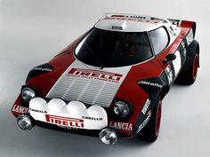 Group 4 Lancia Stratos.