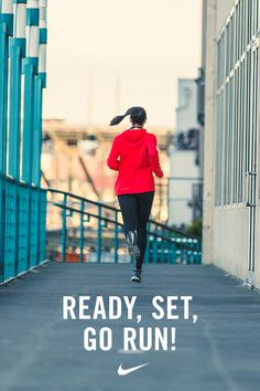 Ready. Set. Run.