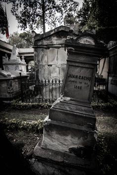 The Pantheon of San Fernando is one of the oldest cemeteries in Mexico City that remains to this day. It was the final destination of the remains of several of the prominent figures from Mexican history of the nineteenth century. #graveyard #mexico #SanFernando.