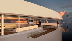 SeaXplorer expedition yacht concept Expedition Yachts, Private Yacht, Boat Trailer, Yacht Boat, Outboard Motors, Super Yachts, Boater, Under Construction, Sailing