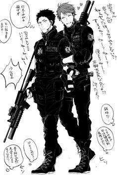 Iwaizumi Hajime & Ooikawa Tooru | Haikyuu!!