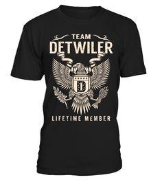 Team DETWILER - Lifetime Member