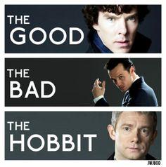 Aww, I like John though, he's got the heart and Sherlock's got the brain and the sexy (and the weeeiiiirdness)
