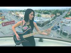 Anna Sentina - Get On the Floor by Michael Jackson [Bass Cover]