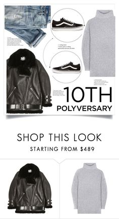 """Celebrate Our 10th Polyversary!"" by lily1lol ❤ liked on Polyvore featuring Acne Studios, J.Crew, Vans, polyversary and contestentry"