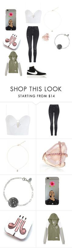 """""""Day out outfit"""" by jno712 ❤ liked on Polyvore featuring Zimmermann, Topshop, Liz Law, Nashelle, PhunkeeTree, Victoria's Secret and NIKE"""