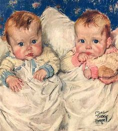 """The Twins"", Maud Tousey Fangel"