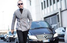 Die Crème de la Crème der Mode-Branche ist zur Milano Moda Uomo in Mailand unterwegs. Hier kann man lernen, wie man sich jetzt elegant - und auf den Punkt modisch - kleidet. Copyright: TheUrbanSpotter.com