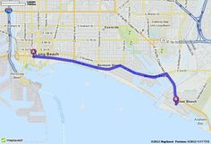 Driving Directions from Long Beach, California to Seal Beach, California | MapQuest