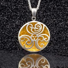 Faerie Pool Celtic pendant by Keith Jack