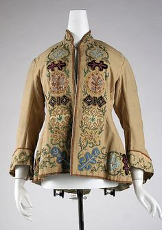 Jacket  1870  The Metropolitan Museum of Art