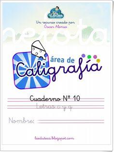 """Área de Caligrafía: Letras """"c"""" y """"q"""" (Laeduteca.blogspot.com)"""