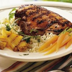 Great marinade recipe for Grilled Teriyaki Chicken at home!