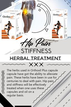 Hip Pain Stiffness Herbal Treatment, Achy and Stiff Hips Remedies Arthritis Pain Relief, Rheumatoid Arthritis, Ayurvedic Remedies, Natural Remedies, Hip Mobility, Hip Pain, Health Tips, Herbalism