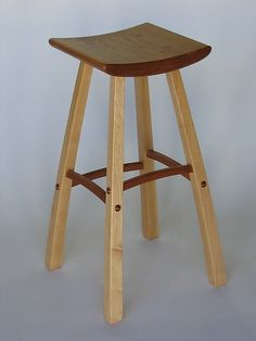 """Barstool"" Wood Stool  Created by Steven M. White"