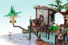 Black Flag - Hut | by Legopard