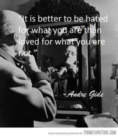 It is better…