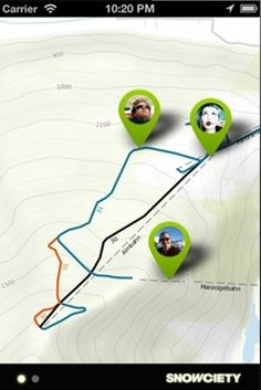 Snowciety launches as Path-meets-Google-Latitude for skiiers