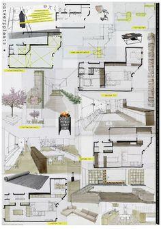 oma interior design concept board - Cerca amb Google