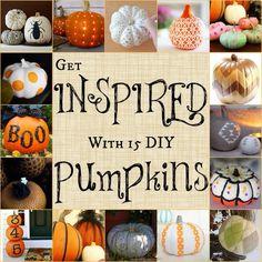 Diy Pumpkin Decorations! #Home #Garden #Trusper #Tip