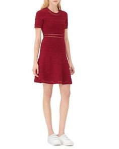 Sandro Riley Fit & Flare Dress | Bloomingdale's