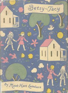 Betsy-Tacy, by Maud Hart Lovelace. This was such a classic series. Came out in the 40s I believe, but a classic is a classic for a reason! I read these books over and over (and over!).