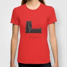 HexArchi - Portugal, Lisboa, Torre de Belém T-shirt