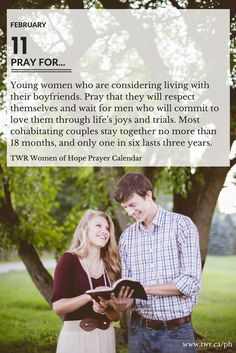 February 2017 Women of Hope Project Hannah Prayer Calendar Marriage And Family, Life S, Trials, Boyfriends, Young Women, 18 Months, Christianity, Respect, Prayers