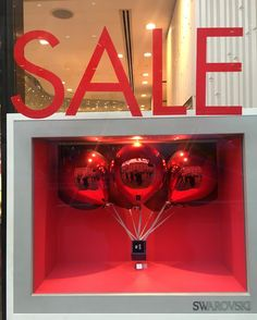 "SWAROVSKI, London, UK, ""Don't just buy it, get it ON SALE!"", photo by Windowshoppings, pinned by Ton van der Veer"