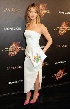 Jennifer Lawrence Catching Fire premiere Cannes 2013