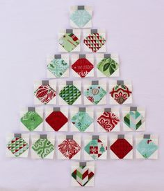 Christmas Baubles Quilt « Moda Bake Shop