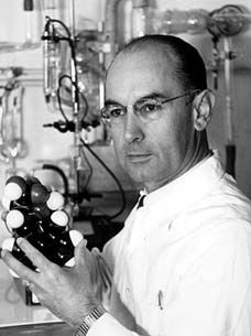 Albert Hofmann, Swiss scientist who invented Lysergic acid diethylamide, aka LSD, in 1943. The drug was hailed as a wonder drug for use in psychoanalysis. The fact that it was cheap and easy to manufacture left it open to abuse. It was banned around the world after a number of people under its influence leapt to their deaths believing they could fly.
