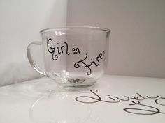 Hand Painted Hidden Mockingjay Mug  by LivelyLibations on Etsy, https://www.facebook.com/pages/Lively-Libations-Glass/243800552462322