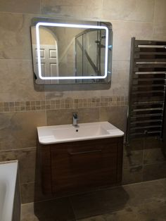 Bathroom Mirror Installation wall hung basin in powder room installationuk bathroom guru