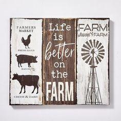 Country Farmhouse Decor, Farmhouse Kitchen Decor, Rustic Decor, Country Wall Decor, Farmhouse Signs, Kitchen Wall Decor Rustic, Chicken Kitchen Decor, Vintage Kitchen Signs, Farmhouse Dinnerware