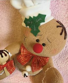 Galletas. Jengibre Christmas Projects, Christmas Themes, All Things Christmas, Christmas Decorations, Christmas Ornaments, Holiday Decor, Cute Crafts, Felt Crafts, Diy And Crafts