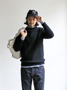 maillot Hi Neck Strato Japan Fashion, Love Fashion, Womens Fashion, Japanese Minimalist Fashion, Outfit Grid, Cool Style, My Style, Men's Wardrobe, Fashion Lookbook