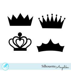 Crown Free Silhouette Studio Cut File |
